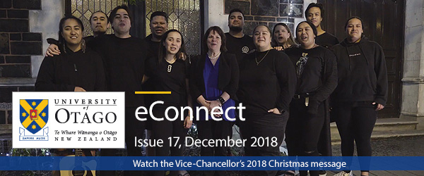 Watch the Vice-Chancellor's 2018 Christmas Message